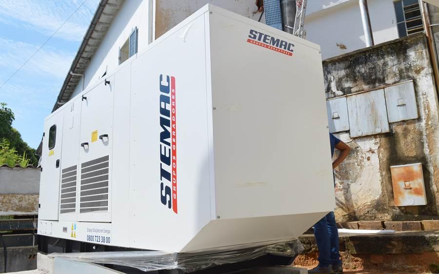 Novo gerador de energia da Casa de Caridade Leopoldinense entra em funcionamento