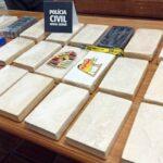 Polícia Civil apreende 25 quilos de cocaína em Muriaé