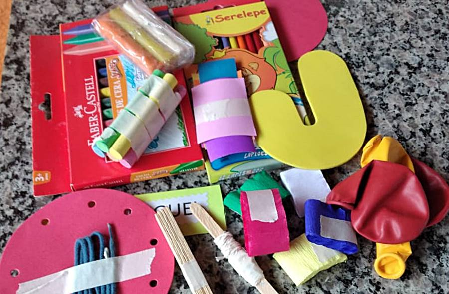 Prefeitura distribui kits pedagógicos para alunos da Educação Infantil em Leopoldina