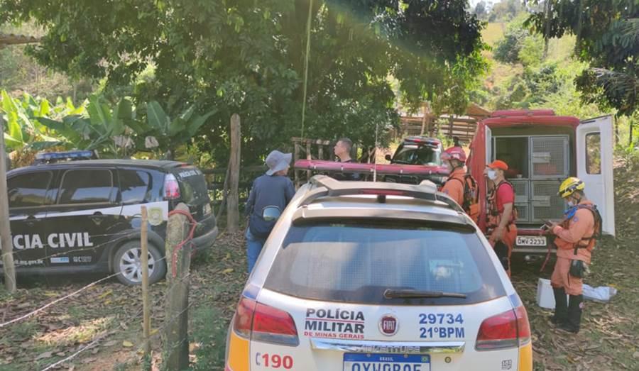 Buscas com apoio de cães farejadores não localizam idoso desaparecido na área rural de Leopoldina
