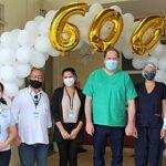 Esperança: Casa de Caridade Leopoldinense comemora marca de 600 pacientes recuperados da Covid-19