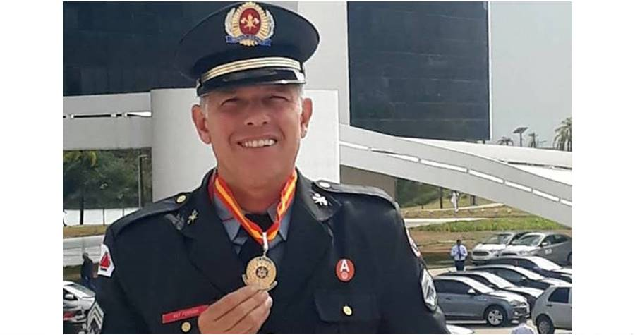 Sargento do Corpo de Bombeiros de Leopoldina se recupera da Covid e agradece profissionais de saúde