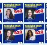 Colégio Imaculada Conceição Leopoldina parabeniza alunos destaque na redação do ENEM 2020