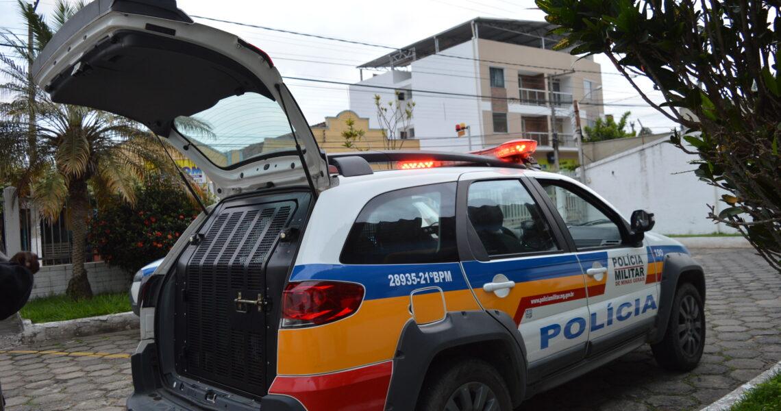 Foragido da Justiça por roubo é preso pela Polícia Militar de Leopoldina