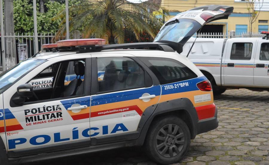Suspeito de assaltar posto de combustíveis é preso pela Polícia Militar de Leopoldina