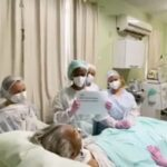 Hospital de Leopoldina comemora terceira paciente com Covid a ser extubada; Veja vídeo
